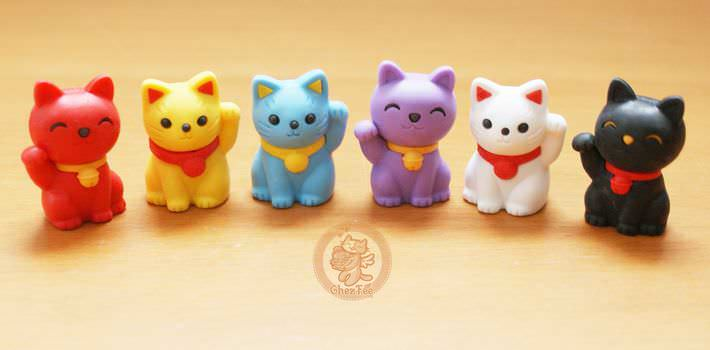 boutique kawaii shop france chezfee com cute papeterie gomme eraser iwako japan japon manekineko1