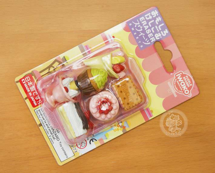 boutique kawaii shop france chezfee cute papeterie gomme eraser iwako japon food patisserie1