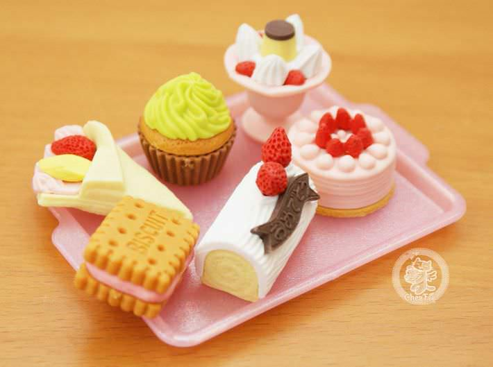 boutique kawaii shop france chezfee cute papeterie gomme eraser iwako japon food patisserie4
