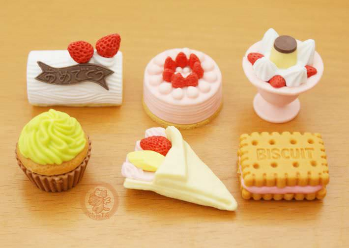 boutique kawaii shop france chezfee cute papeterie gomme eraser iwako japon food patisserie5