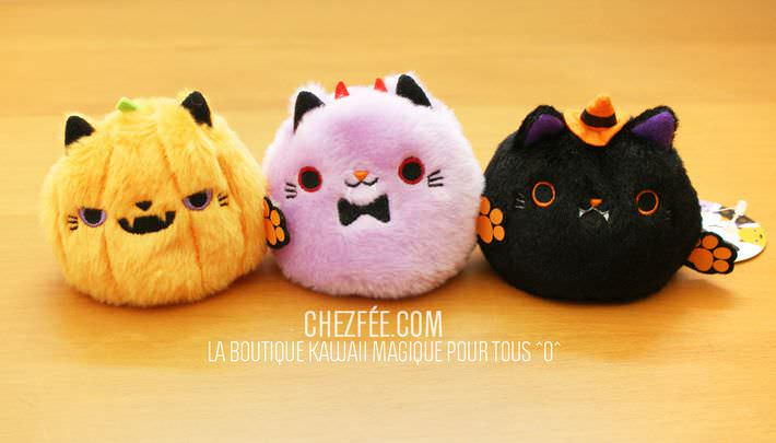 boutique kawaii shop chezfee com neko dango halloween peluche1