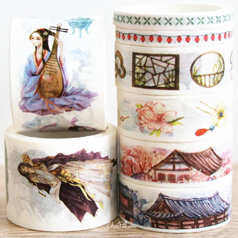 boutique kawaii shop chezfee fourniture papeterie washi masking tape chine ancienne ancient china 2