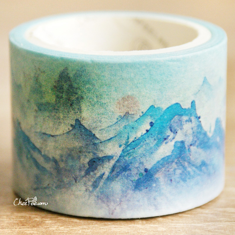 boutique kawaii shop chezfee fourniture papeterie washi masking tape montagne 2