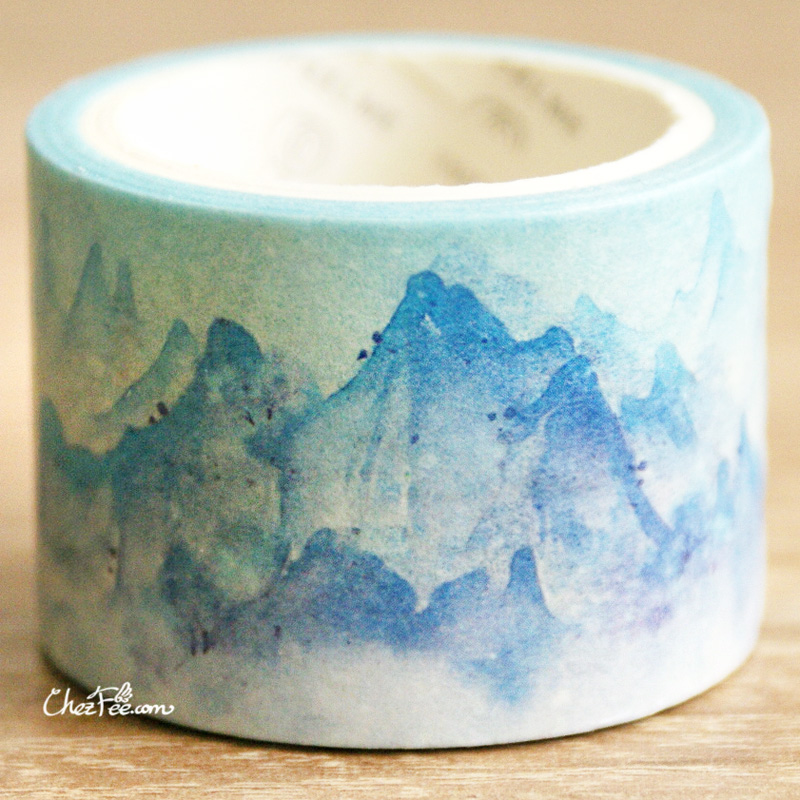 boutique kawaii shop chezfee fourniture papeterie washi masking tape montagne 3