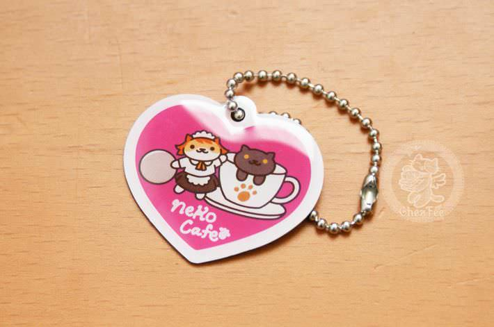 boutique kawaii shop france lille chezfee com gachapon capsule japonais authentique cat neko atsume charm strap neko cafe love1