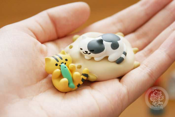 boutique kawaii shop france chezfee com gachapon japonais cat neko atsume figurine6
