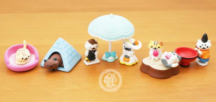 boutique kawaii shop france chezfee com gachapon japonais cat neko atsume figurine3 2