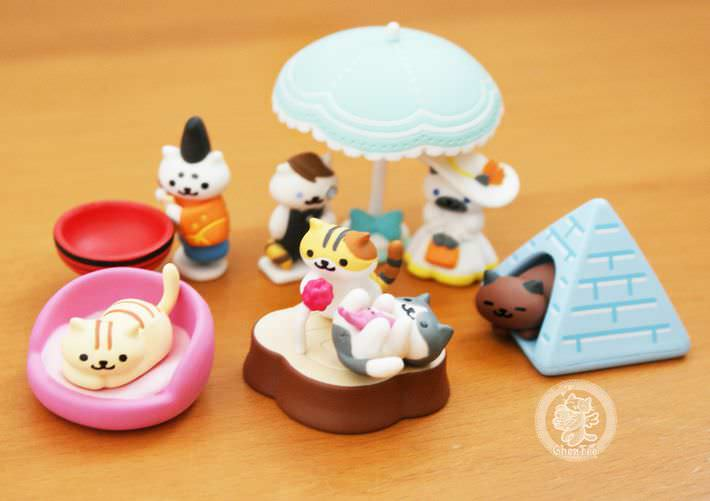 boutique kawaii shop france chezfee com gachapon japonais cat neko atsume figurine3 3