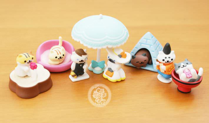 boutique kawaii shop france chezfee com gachapon japonais cat neko atsume figurine3 4