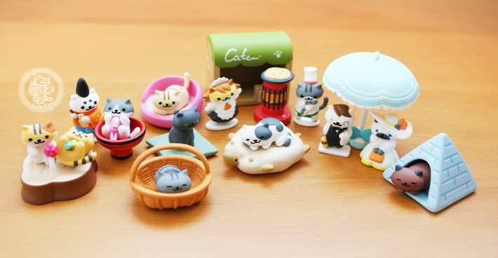 boutique kawaii shop france chezfee com gachapon japonais cat neko atsume figurine3 7