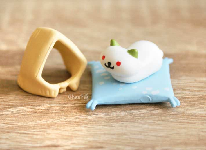 boutique kawaii shop france chezfee gachapon japonais neko atsume figurine version5 frosty1