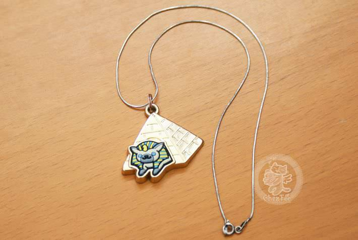 boutique kawaii shop france chezfee com gachapon japonais authentique neko atsume charm strap or6