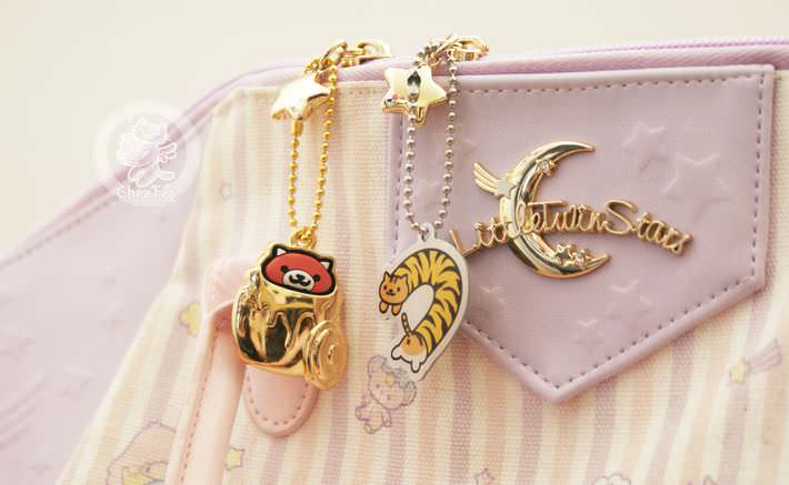 boutique kawaii shop france chezfee com gachapon japonais authentique neko atsume charm strap or7