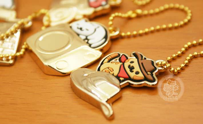 boutique kawaii shop france chezfee com gachapon japonais authentique neko atsume charm strap or8