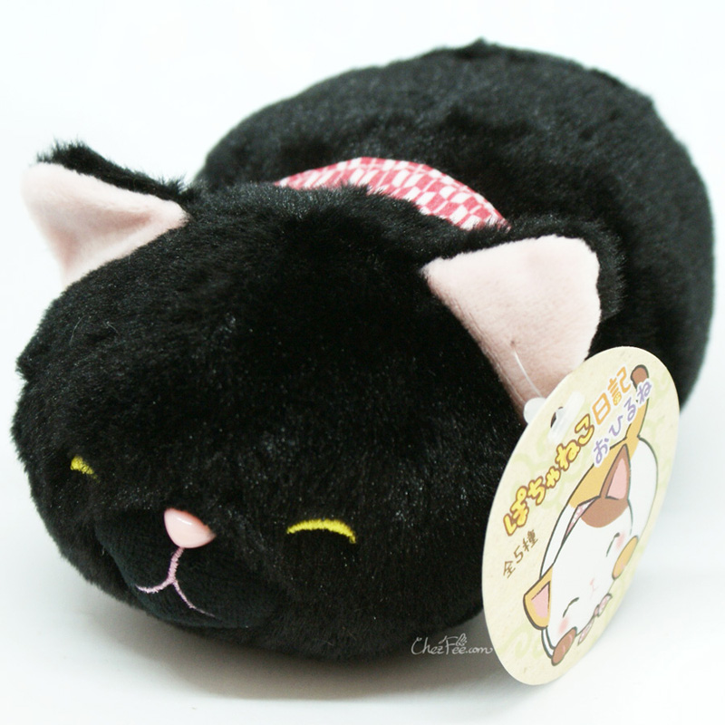 boutique kawaii shop chezfee peluche chat cat neko couche japonais noir 1
