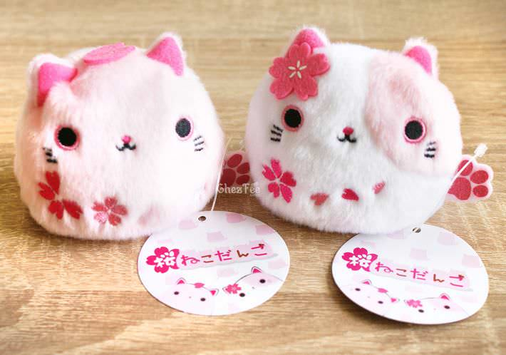 boutique kawaii shop chezfee france neko dango sakura peluche chat 1