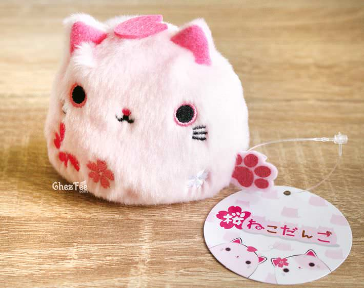 boutique kawaii shop chezfee france neko dango sakura peluche chat rose 1