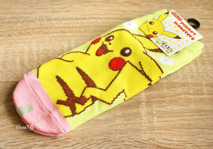 boutique kawaii shop cute authentique pokemon officiel chaussettes pikachu 1