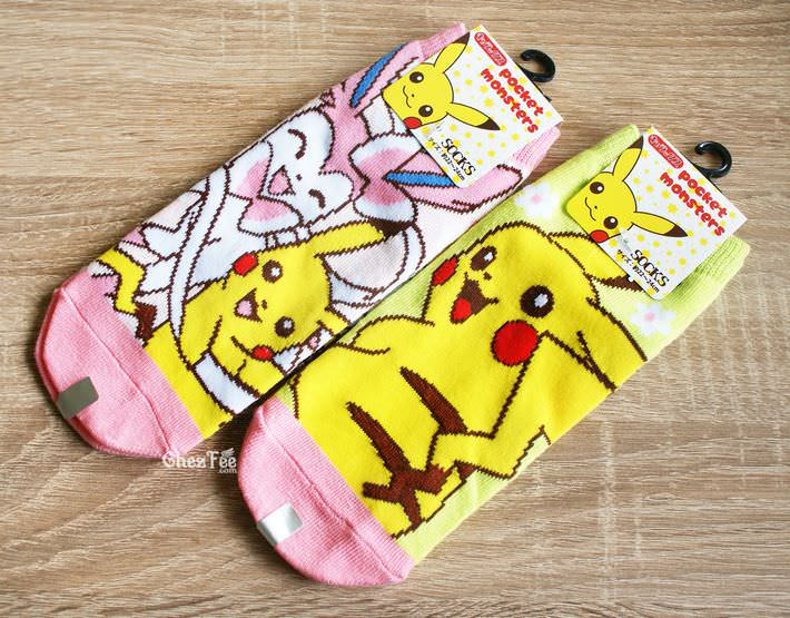 boutique kawaii shop cute authentique pokemon officiel chaussettes pikachu nymphali 1