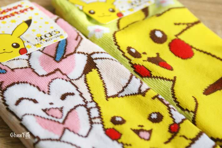boutique kawaii shop cute authentique pokemon officiel chaussettes pikachu nymphali 4