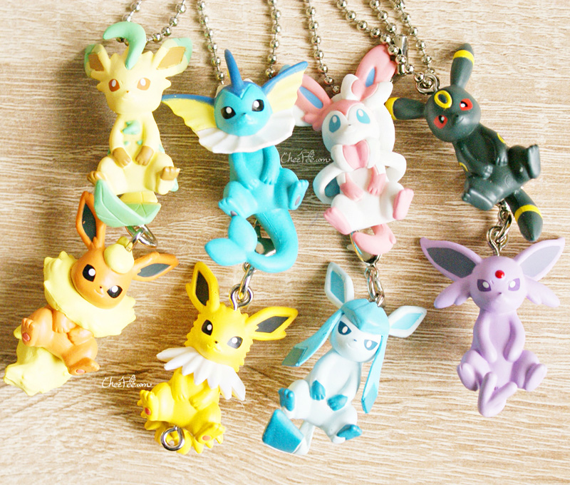 boutique kawaii objet shop chezfee pokemon officiel gashapon figurine evoli evolution 7