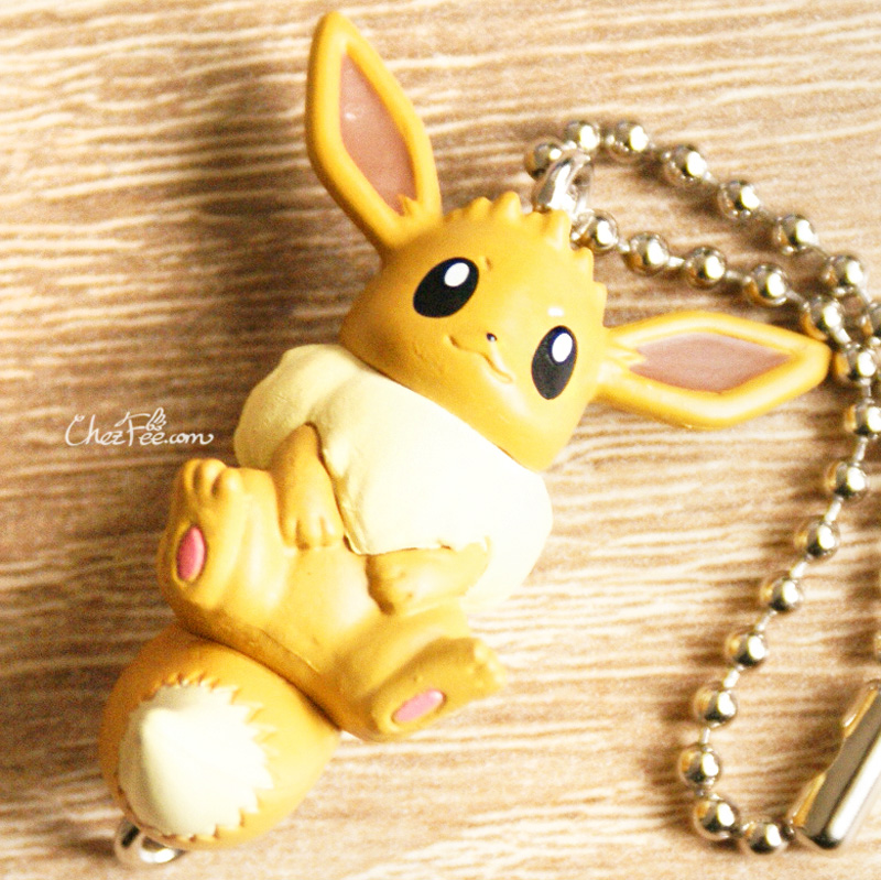 boutique kawaii objet shop chezfee pokemon officiel gashapon figurine evoli evolution evoli