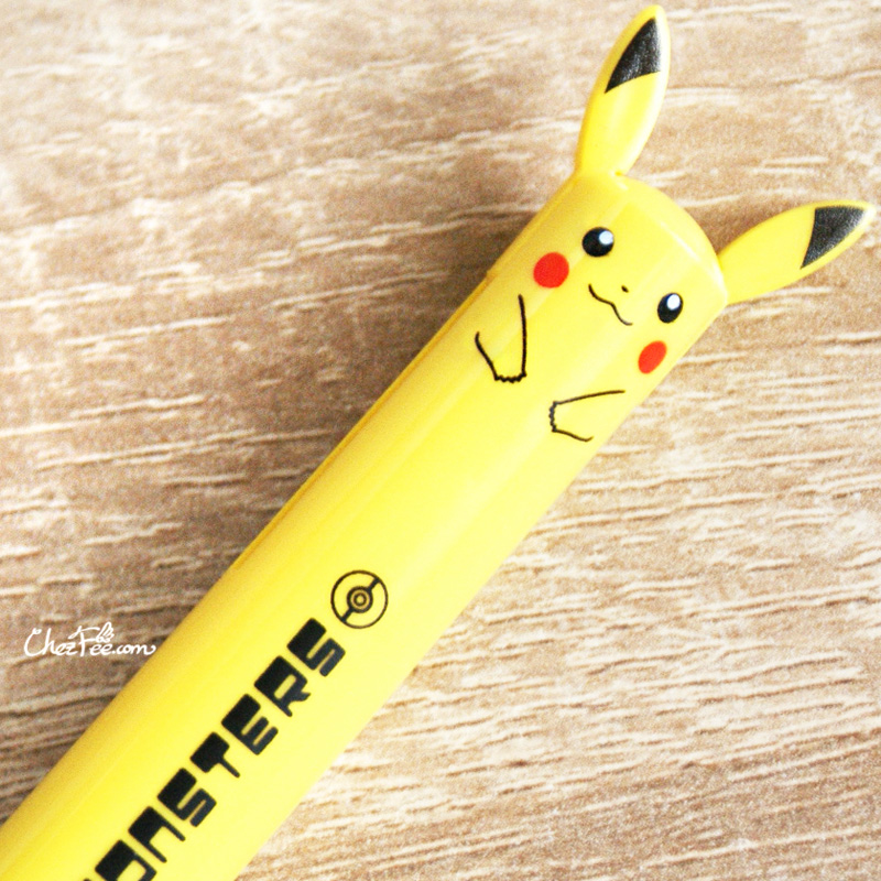 boutique kawaii shop cute chezfee stylo multi couleur pokemon pikachu 3
