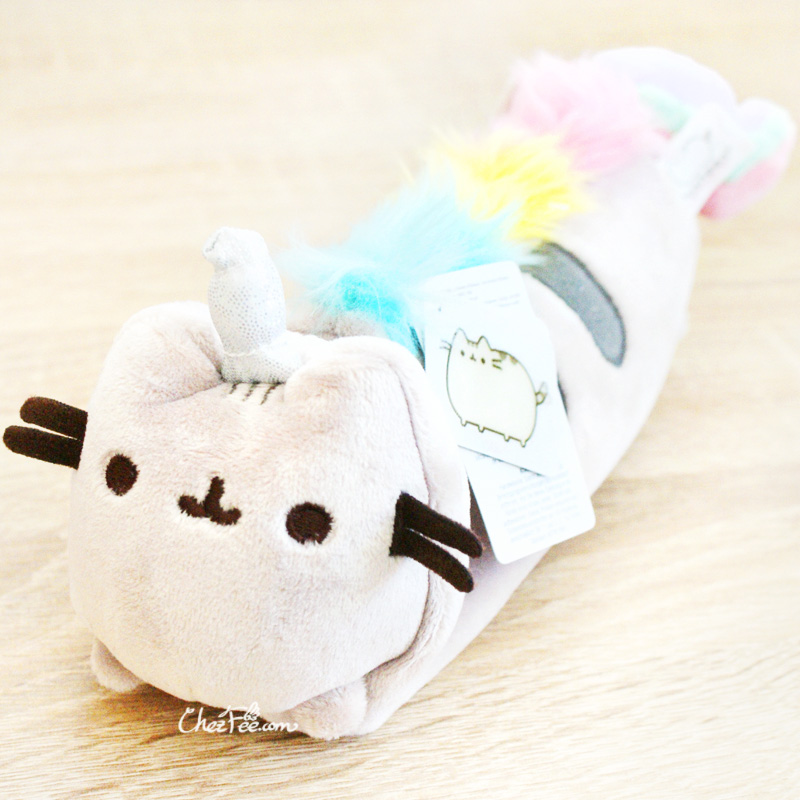 boutique papeterie fourniture kawaii shop france chezfee trousse peluche pusheen licorne officiel 1