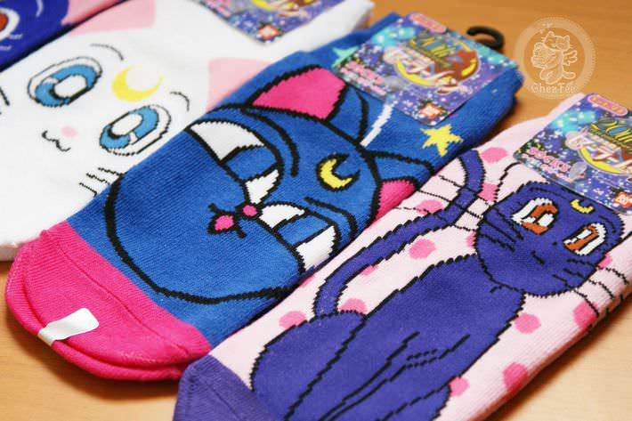 boutique kawaii shop france chezfee com chaussette kawaii sailor moon bandai authentique chat3