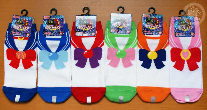 boutique kawaii shop france chezfee com chaussette kawaii sailor moon bandai authentique sailors1