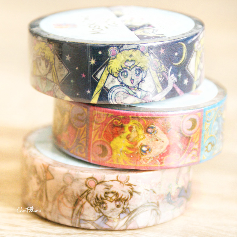 boutique kawaii shop chezfee france papeterie masking tape sailor moon officie