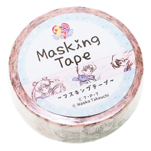 boutique kawaii shop chezfee france papeterie masking tape sailor moon officiel sketch 1