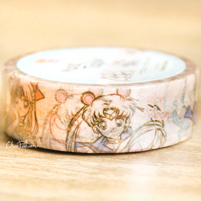boutique kawaii shop chezfee france papeterie masking tape sailor moon officiel sketch 4