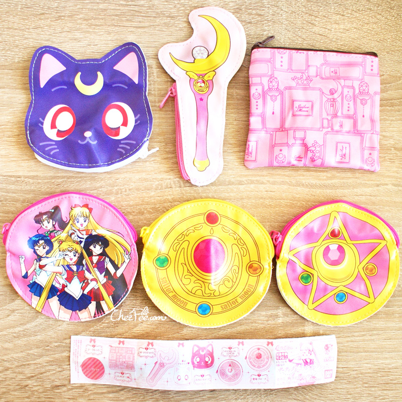 boutique kawaii shop cute sailor moon officiel gashapon pochette 1