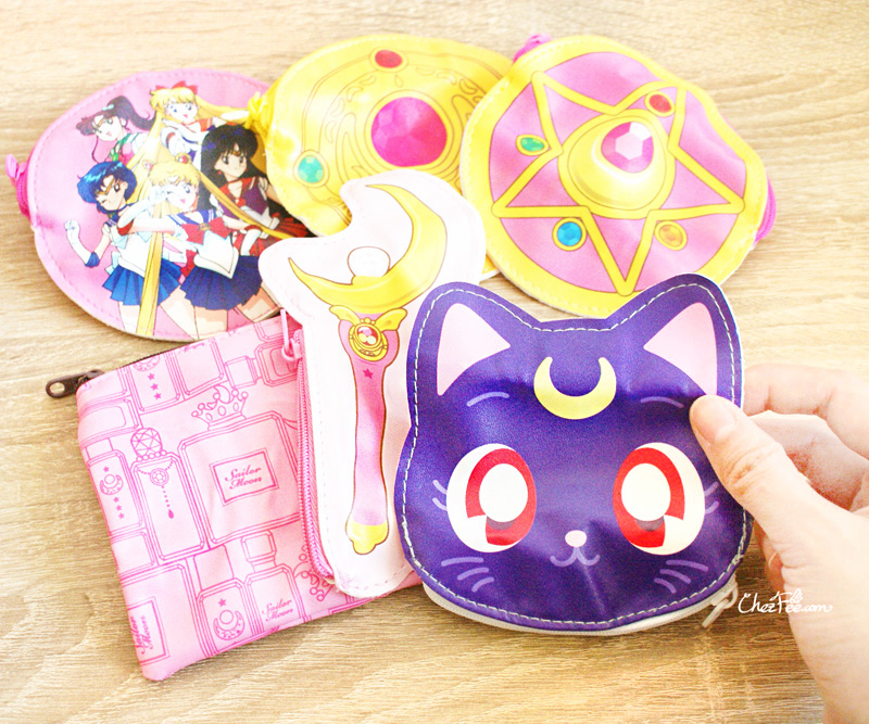 boutique kawaii shop cute sailor moon officiel gashapon pochette 3s
