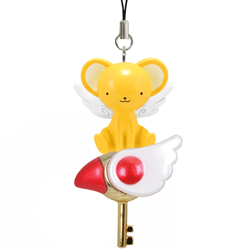 boutique kawaii shop object candy toy charm strap porte clef cardcaptor sakura officiel mascot kero 2