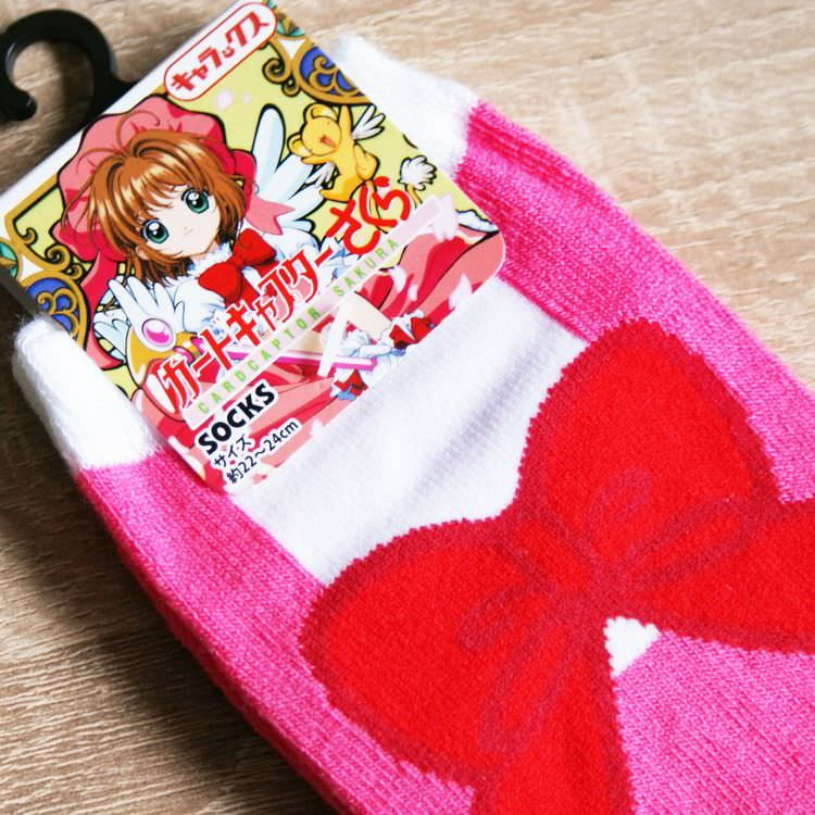 boutique kawaii shop cute authentique nhk officiel chaussettes sock cardcaptor sakura robe 3