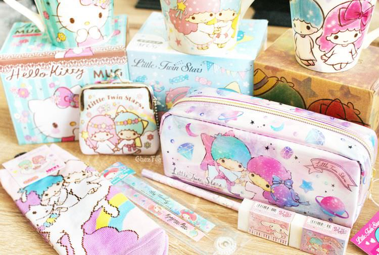 boutique kawaii papeterie chezfee trousse little twin stars sanrio 1
