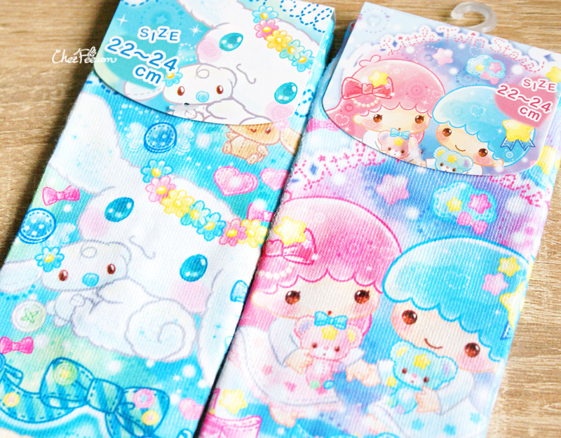 boutique kawaii shop chezfee authentique sanrio officiel jolies chaussettes kawaii cinnamoroll little twin stars bonbon 1