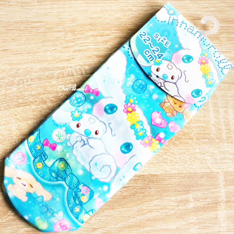 boutique kawaii shop france chezfee authentique sanrio officiel jolies chaussettes kawaii cinnamoroll bonbon 1