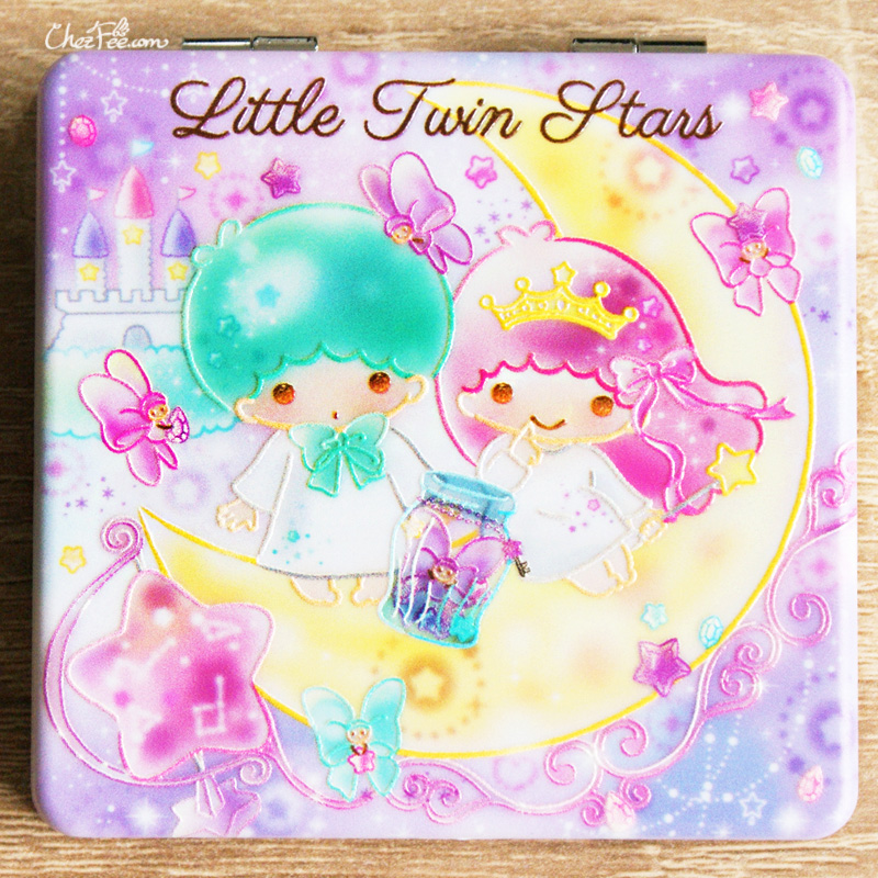 boutique kawaii shop france chezfee miroir poche sanrio officiel little twin stars bonbon 1