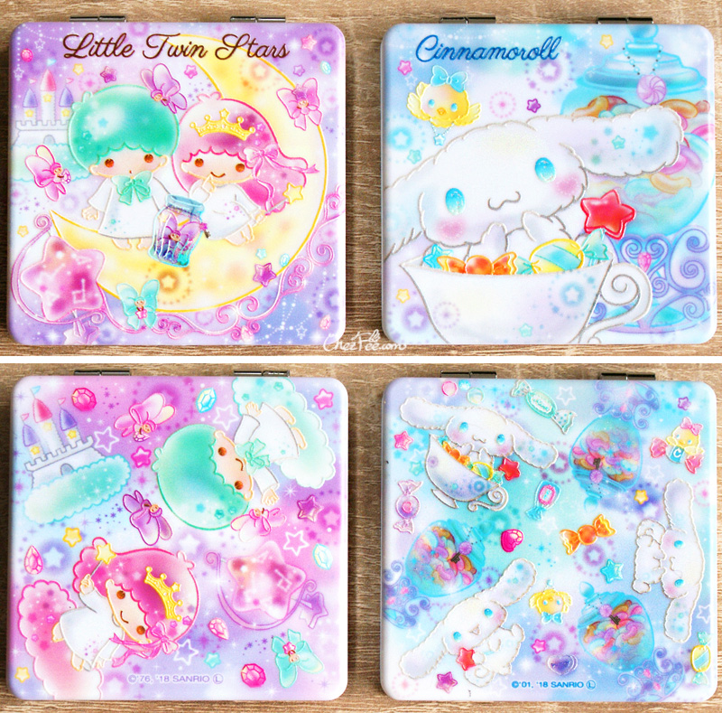 boutique kawaii shop france chezfee miroir poche sanrio officiel little twin stars cinnamoroll bonbon 1