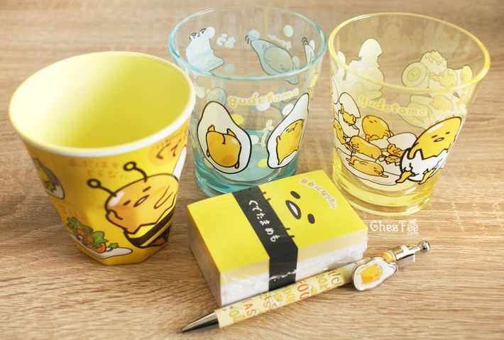 boutique kawaii shop france chezfee papeterie verre gudetama sanrio licence authentique1