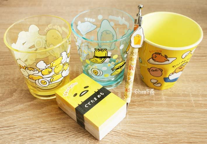 boutique kawaii shop france chezfee papeterie verre gudetama sanrio licence authentique2