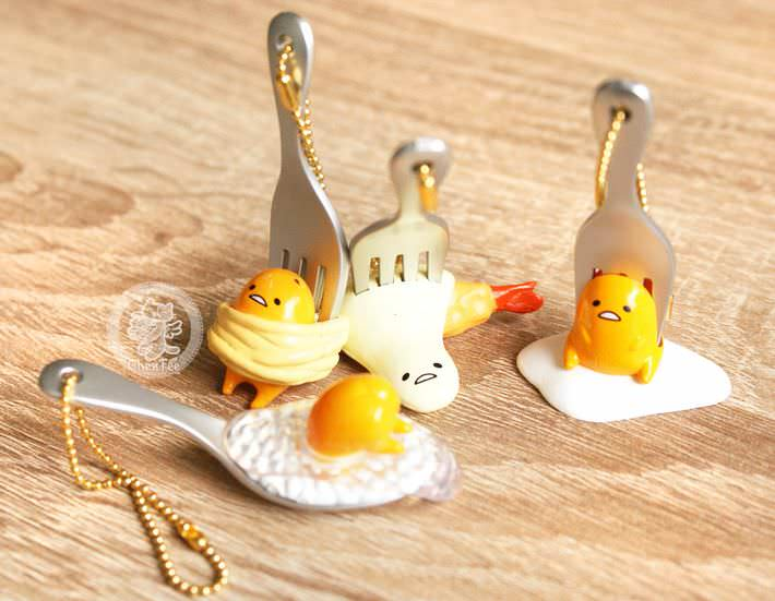 boutique kawaii shop chezfee porte cles gashapon miniature sanrio gudetama3