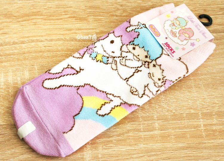 boutique kawaii shop chezfee sanrio little twin stars licorne chaussettes 1