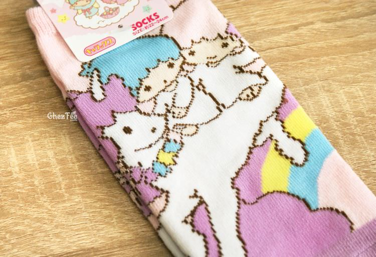 boutique kawaii shop chezfee sanrio little twin stars licorne chaussettes 2