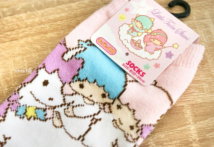 boutique kawaii shop chezfee sanrio little twin stars licorne chaussettes 3
