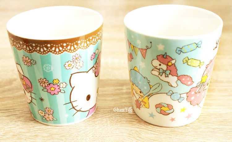 boutique kawaii shop chezfee sanrio little twin stars hello kitty mug 2