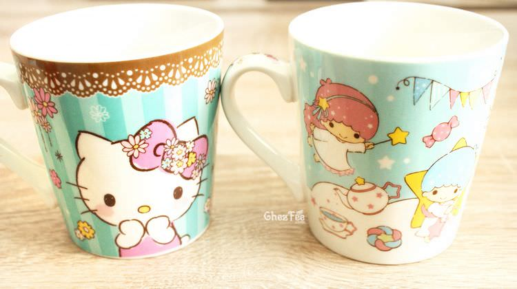 boutique kawaii shop chezfee sanrio little twin stars hello kitty mug 3